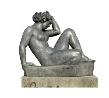 "Aristide Maillol's 1902-05 bronze ""The Mediterranean"""